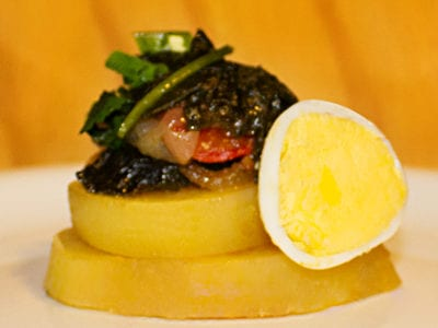 Bacalhoalgas vegetariana