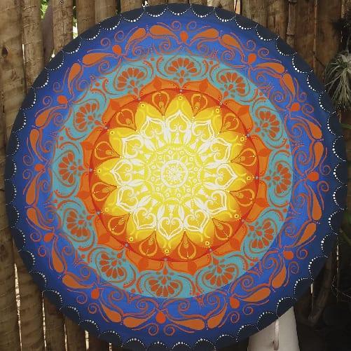 Mandalas com Pinceladas Astrológicas