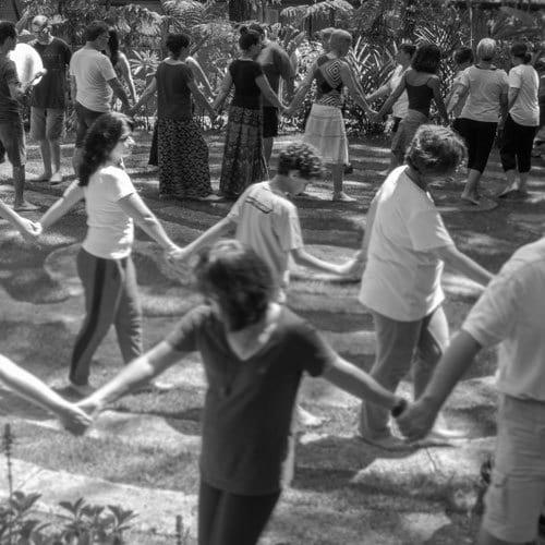 Nazaré e a história das danças circulares + lua cheia de Wesak