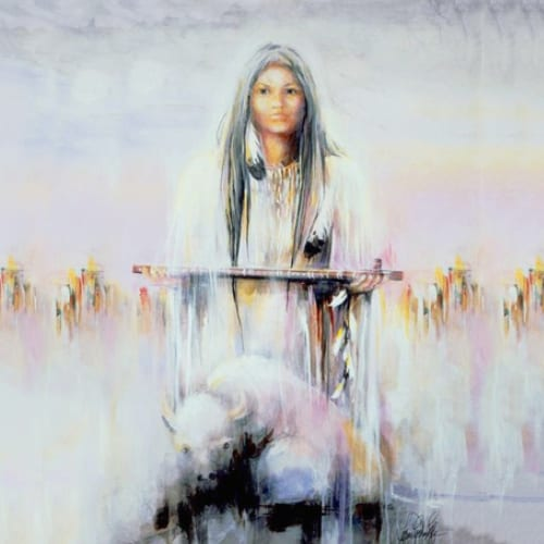 Os Sete Ensinamentos Sagrados da Mulher Búfalo Branco