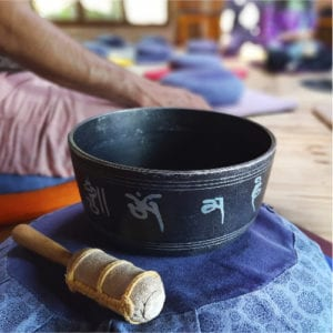 tijela tibetana na meditação
