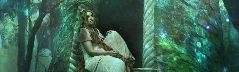 princesa na janela