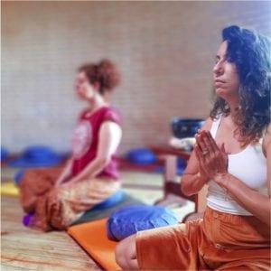 Mindfullness sala de meditação