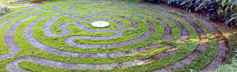 labirinto meditativo