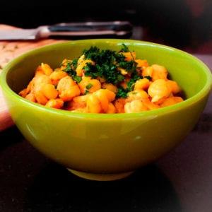 Curry de grao de bico