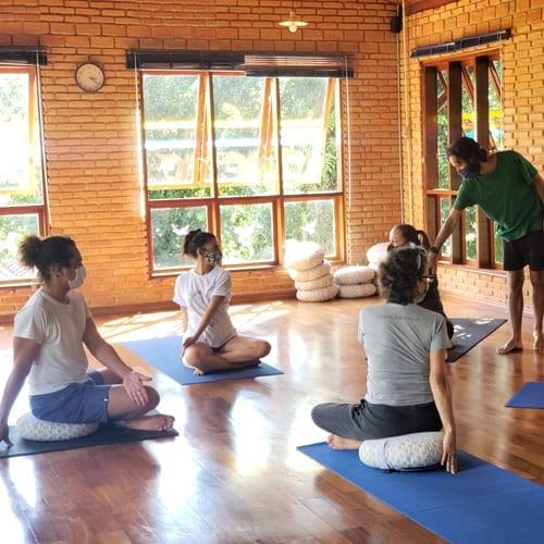 Retiro de Meditação e Yoga Para Iniciantes